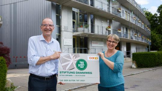 Roman Pompeo, Coop und Susanna Hurni, Stiftung Dammweg